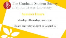 GSS Summer Hours (Social Media)