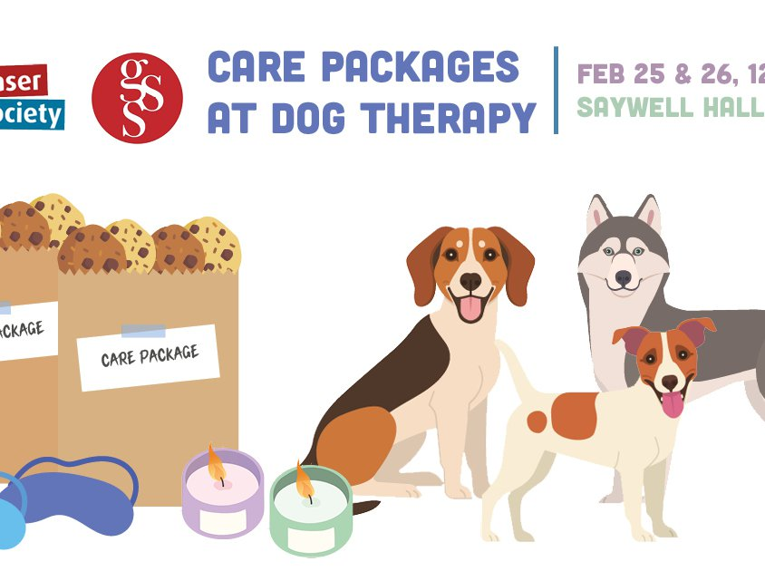 care pkg at dog therapy